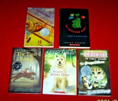 5 Chapter Books Newbery Award Guided Level R S V 4th 5th 6th 7th Grade Teachers