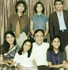 Sunil dutt family