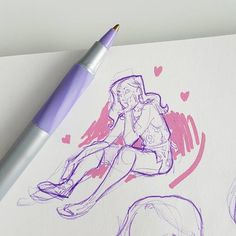 Creative Drawing Figure Drawing Basics: Costumes, Clothes or Other Medhods! Art Drawings Sketches, Cool Drawings, Pretty Art, Cute Art, Arte Sketchbook, Sketchbook Inspiration, Art Reference Poses, Aesthetic Art, Figure Drawing