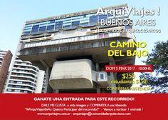 ARQUIVIAJES!   CAMINO DEL BAJO  ArquiViajes! te invita a participar de su próximo recorrido arquitectónico y cultural.  Domingo 5 de marzo de 2017 a las 10 horas.  Más info: http://ly.cpau.org/2mhYb16  #AgendaCPAU #RecomendadoARQ