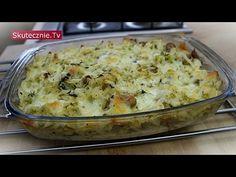 Zapiekanka gyros z kapustą i ziemniakami :: Skutecznie.Tv [HD] Salty Foods, New Recipes, Potato Salad, Mashed Potatoes, Macaroni And Cheese, Lunch, Dinner, Vegetables, Cooking
