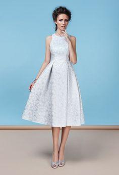 Коктейльное платье с расклешённой юбкой | Dress with flared skirt
