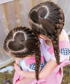 Girl Hairstyle Braids Ideas 136 adorable little girl hairstyles to try Girl Hairstyle Braids. Here is Girl Hairstyle Braids Ideas for you. Girl Hairstyle Braids little black girls hairstyles little girl hairstyles. Girl H. Valentine's Day Hairstyles, Kids Braided Hairstyles, Gorgeous Hairstyles, Hairstyle Ideas, Hair Ideas, Hair Tips, Wedding Hairstyles, Natural Hairstyles, Trendy Hairstyles