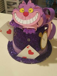 Crazy hat idea for kids - ceiling Crazy Hat Day, Crazy Hats, Crazy Socks, Mad Hatter Costumes, Mad Hatter Hats, Mad Hatter Tea, Mad Hatters, Alice Tea Party, Alice In Wonderland Tea Party