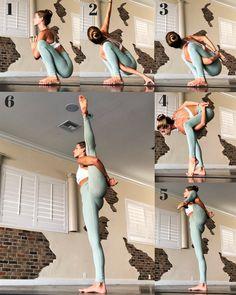 Ashtanga Yoga And Its Features Explained Ashtanga Yoga, Yoga Bewegungen, Yoga Flow, Namaste Yoga, Gymnastics Tricks, Gymnastics Workout, Gymnastics Stretches, Easy Gymnastics Moves, Dance Stretches