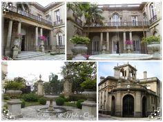 No meio do caminho tinha um café! E um museu... Mansions, House Styles, Home Decor, Uruguay, Museum, Getting To Know, Middle, Mansion Houses, Room Decor