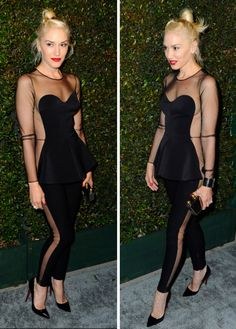 Hi Gwen... I adore you and that amazing jumpsuit that you're rocking with your rockin bod. Jelly.
