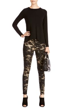 Camo jeans... Must have for the fall.