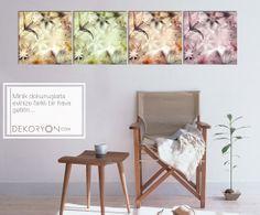 Eviniz güzel tablolarla keyif veren alanlara dönüşüyor...