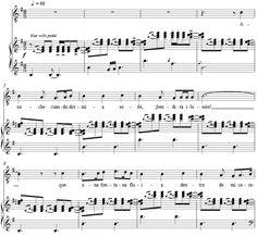 """Es la primera parte de la partitura para piano del poema """"Anoche Cuando Dormía"""" de Antonio Machado (noveintaiochista) debajo del pentagrama tenéis el poema"""