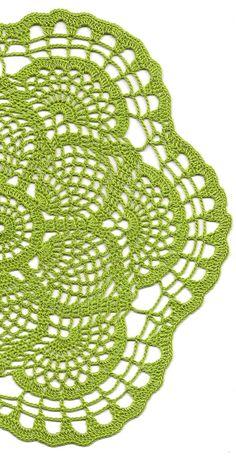 Christmas gift Crochet doily lace doily Christmas by DoilyWorld