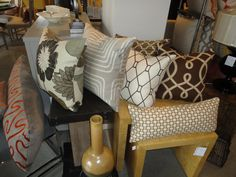 Check out our showroom to see some of our gorgeous pillows or view all of them on our website at www.pillowsbydezign.com