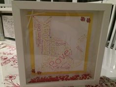 Lovely Cat Word Art for Mothers Day Nail Technician, Family Love, Mothers Love, Word Art, Cat, Words, Frame, Decor, Picture Frame