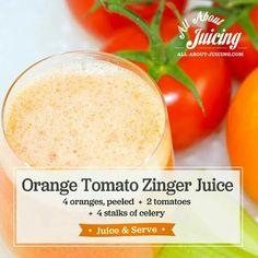 Orange Tomato Zinger Juice