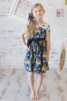 Little girls designers clothes- Girls Boutique Dresses, Girls Designer Clothes, Colourful Outfits, Colorful, Magpie, Little Girls, Wonderland, Kids Outfits, Summer Dresses