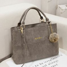 2015 Fashion Design women leather handbags/Fringed bag/High quality women's messenger bag Shoulder Bags Saffiano bag M7 445-in Top-Handle Bags from Luggage & Bags on http://Aliexpress.com | Alibaba Group