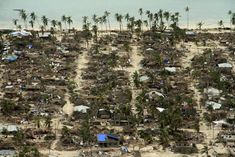 Flooding grips Mozambique in Cyclone Kenneth's wake Massive flooding hit Mozambique on Sunday in the wake of Cyclone Kenneth which ravaged northern parts of the country three days ago with high winds and torrential rain. Cabo, Water Flood, Les Continents, Picture Editor, S Pic, Aerial View, The Guardian, Great Britain, City Photo
