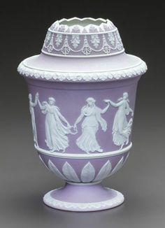 Wedgwood | Urn | Purple Jasperware | England