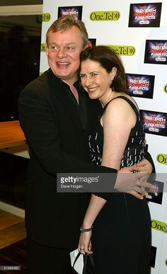 Actor Martin Clunes and his guest arrive at the 'British Comedy Awards at London Television Studios on December 2004 in London. British Comedy, British Men, Martin Clunes, Star Wars, Doc Martins, Awards, December 22, Actors, Couples