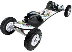 MBS Core 90 All-Terrain Board Mountainboard - To use with a kite