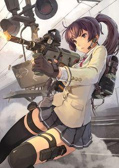 Only the best ecchi pics. I Love Anime, Awesome Anime, Comics Anime, Gunslinger Girl, Fanart Manga, Anime Military, Girls Anime, Image Manga, Anime Fantasy