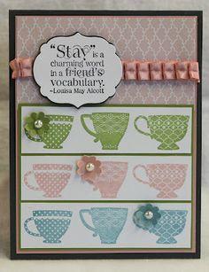 Stampin' Up Tea Shoppe stamp set