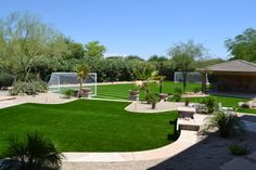Goal! How about a soccer field in your backyard? Visit ParadiseGreens.com for a Free estimate.