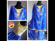 كيفية تفصيل وخياطة اللباس التقليدي الجزائري (الردا) - YouTube Sewing Diy, Couture, How To Sew, Boss, Accessories