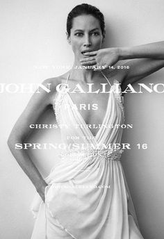 Can Christy Turlington Burns Revive the John Galliano Label? (Forum Buzz) http://ift.tt/1WE3aFd  Were all for seeing a timeless fashion image with a models natural beauty shining through and thats exactly what John Gallianos Spring 2016 campaign delivers. Ushering in a whole new concept designed by Creative Director Bill Gaytten in collaboration with Art Director Atelier Franck Durand the campaign was sure to generate buzz. The ever-radiant Christy Turlington Burns was photographed wearing a…