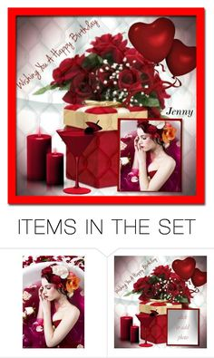 """birthday"" by smile2528 ❤ liked on Polyvore featuring art"