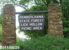 Parnell lick hollow pennsylvania