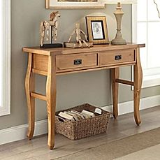 image of Santa Fe Console Table in Antique Pine