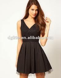 vestido negro, no debe faltar...