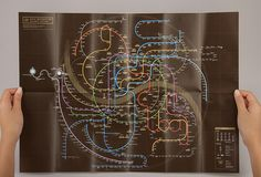 seoul subway map / bought this one in hongdae