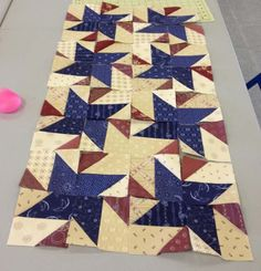 Bonnie Hunter StarStruck Pattern - for Quilts of Valor?