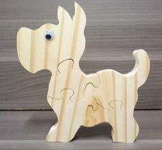 Dog Puzzle | Evoshe - Brincando com Madeira | Elo7