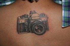 i'm getting the urge to get a tattoo and i'm thinking a tattoo of my first real camera might be it. Boy Photography Poses, Photography Camera, Light Photography, Vintage Photography, Be Brave Tattoo, Get A Tattoo, Camera Tattoos, Vintage Friends, Cool Tattoos