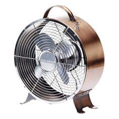 Retro Copper Table Fan