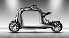 Cargo scooter sketch -Vaninetti