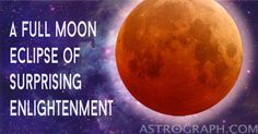 A Full Moon Eclipse of Surprising Enlightenment - AstroGraph Astrology Software