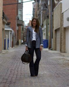 Outfit: Denim Days | Sequins & Stripes