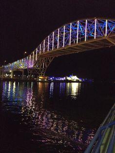 Harbor bridge & Texas aquarium