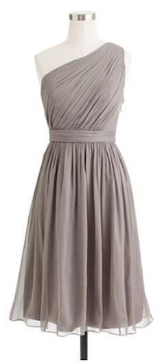 Gorgeous bridesmaid dress | j.crew