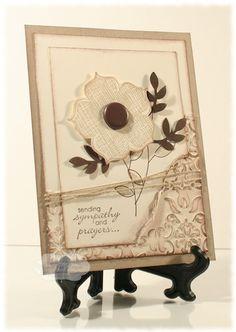 Stamping for Sanity: Display Stamper - Raining Flowers (card)