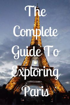 Heading to Paris soon? This guide includes everything: phrases to know, food to try, places to visit, and how to get around in Paris!