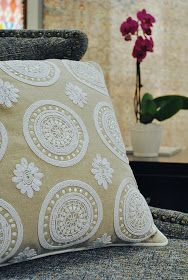 FRENCH COUNTRY COTTAGE: All about texture~ Pillows & Loloi Rugs