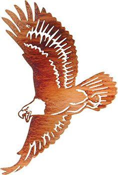 Thirstystone Winged Glory 'Eagle' Wall Art, 24-Inch