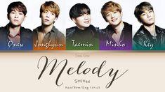 #WeLoveYouJonghyun SHINee (샤이니) (シャイニー) Melody - Kan/Rom/Eng Lyrics (가사)... Jonghyun, Shinee, January 27, Missing You So Much, Lyrics, Album, Songs, Musica, Song Lyrics