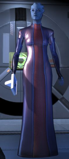 Doctor Liara T'Soni - Mass Effect 2 - From the character profile at http://www.writeups.org/fiche.php?id=5524