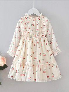 Girls Dresses Sewing, Toddler Girl Dresses, Little Girl Dresses, Toddler Girls, Modest Dresses Casual, Stylish Dresses For Girls, Frocks For Girls, Girls Frock Design, Fancy Dress Design